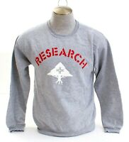 LRG Lifted Research Group Heather Gray Long Sleeve Pullover Sweatshirt Men's NWT