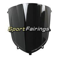 Black Somked Windshields For Kawasaki ZX10R 2004 2005 Sportbike Wind screen New