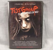 Test Group DVD Fear For the Living Zombie Epic Experiment Keith Bailey
