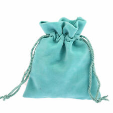 10pc green Velvet Drawstring Pouches Jewelry christmas Gift Bag packing 10x12cm