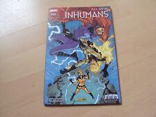 comics  all-new  INHUMANS n° 6, la torche et la reine