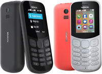 New Nokia 130 2017 Unlocked Mobile Phone GREY **Cheapest on eBay** DUAL SIM