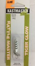 New listing Acme Kastmaster Rattle Master Spoon Tiger Glow Sw225R/Cggt-Rare-Ships N 24 Hrs