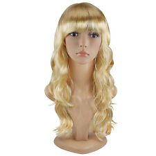 "TRIXES Blonde Wig 20"" Long Wavy Hair Costume Party Cosplay Fancy Dress"