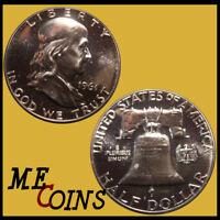 1961 PROOF Franklin Half Dollar, Silver 90%, GEM , Free Shipping!
