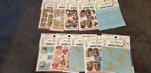 abc nailstore 10x Posten Set water decal Sticker Wrap Nail Art