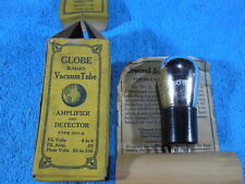 Globe 201A  NOS Globe shape Box complete with data sheet tube.