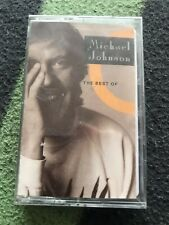 The Best of Michael Johnson CASSETTE SEALED UNPLAYED!