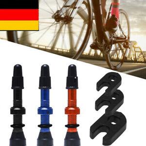 2 Stück Tubeless Ventile MTB Universal Presta Ventil 48MM Fahrrad Reifenventil