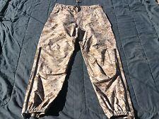 USMC Desert MARPAT GORETEX Trousers LIGHTWEIGHT EXPOSURE SUIT Pants small/short