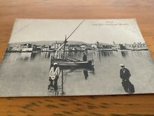 Old Postcard  Suez