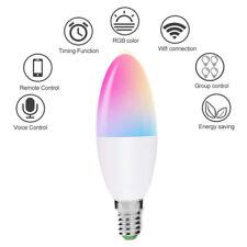 Smart WiFi Candle Bulb 6W E14  E12 Works with Alexa and Google Home Amazon
