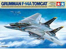 Tamiya 61114 1/48 Scale Model Aircraft Kit Grumman F-14A Tomcat