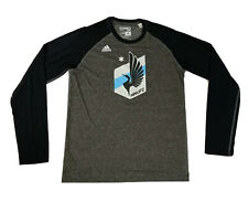 Adidas Minnesota United FC Long Sleeve Shirt Large Climacool Ultimate Tee