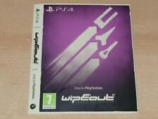 Wipeout Omega Collection PS4 Only On Playstation Limited Edition Sleeve NO GAME