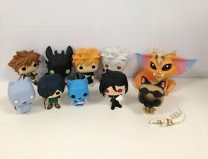 10 Piece Job Lot Mixed Funko Pops Without Packaging Collectable #294