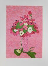 Lithografie Jafé - Bouquet with Poppies