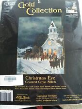 Candamar Designs Gold Collection Christmas Eve counted cross stitch kit Sealed