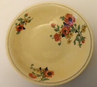 Vtg Sebring Pottery Co. Golden Maize 'The Poppy' Round Serving Bowl