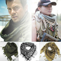 Army Military Tactical Keffiyeh Shemagh Arab Scarf Shawl Neck Cover Head Wrap