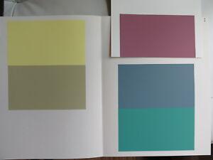 Josef Albers Original Silkscreen Folder XV-1 Interaction of Color 1963