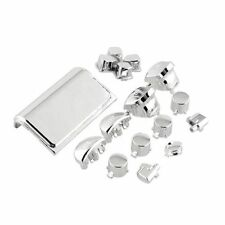 Custom Button Buttons Full Set Kit PS4 PlayStation 4 Wireless Controller Chrome