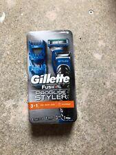 Gillette Fusion Proglide Shaving Styler 3 in 1 Razor Beard Trimmer Edging Blade
