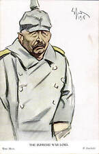 WW1 Anti-Kaiser Patriotic by E.Sachetti. The Hun # 431 by Geo. Pulman, London.