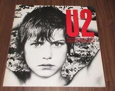 U2 Japan debut 1983 tour book unique design Bono other rare U2 items available