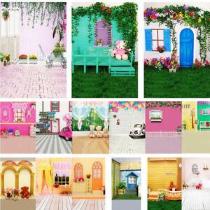 Children Dream Scene Vinyl Photography Backdrop Background Studio Photo Props
