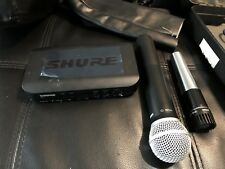 Shure BLX4/PG58 Handheld Wireless Mic System w/extra Shure Mic 545SD L@@K