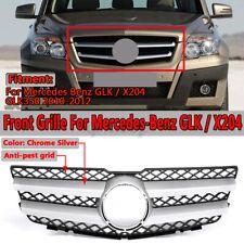 2013-2015 MERCEDES BENZ GLK-CLASS X204 Paraurti Anteriore Griglia Nero Cromato Pinne