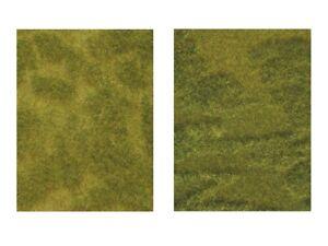 """Noch 07470 Natur+ """"Saftige Wiese"""" 25 x 25cm (2 St.) ++ NEU in OVP"""