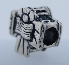 Authentic Trollbeads White House World Tour US11306 New Retired Silver Bead