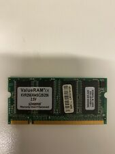 256MB PC2100 DDR 266 200 Pin SODIMM Notebook RAM
