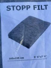 "IKEA Stopp Filt Rug Underlay Anti-Slip 5' 5"" x 7' 9"" Keeps Rug From Moving New"