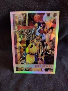 1997-98 Topps Chrome Refractor #171 Kobe Bryant Los Angeles Lakers HOF🔥📉