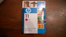 HP 11 Magenta C4837A OEM Sealed Ink Cartridge Expired