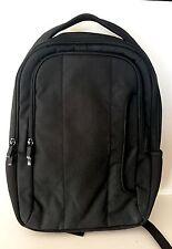 Wenger Sleek Black Backpack with Side Pockets NWOT