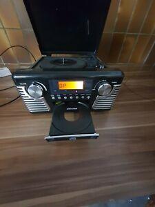 Retro Nostalgie Stereoanlage Plattenspieler CD-Player Chronox E 6060