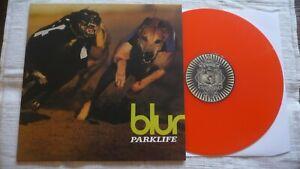 BLUR - Parklife LP Red Vinyl pressing - Indie,.Britpop,Oasis,Pulp,Stone Roses