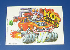 VINTAGE WEIRD WHEELS STICKER #2 HOT RABBIT IN NM/MT CONDITION