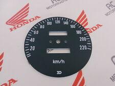 Honda CB 750 Four K2 Zifferblatt Tachometer Scheibe Tach KM/H Speedo Face Plate