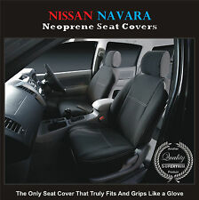 Front Car Seat Cover fits Nissan Navara D22 STR PREMIUM neoprene Waterproof