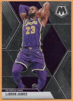 2019-20 Panini Mosaic Lebron James Card #8 Los Angeles Lakers