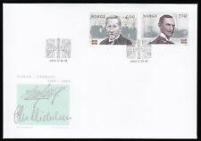 Norway 2005 Fdc Centenary Of Dissolution Of Union With Sweden