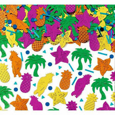Pineapple Parrot Palm Tree Hawaiian Tropical Party Table Confetti Decorations