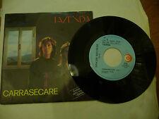 "TAZENDA""CARRASECARE-disco 45 giri RICORDI 1990"""