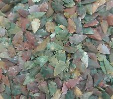 "5 stone arrowheads bird arrow points replica 1- 1 1/2"" inch agate or jasper  cb1"