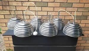 Chrome Pendant Lamp Shades - Used